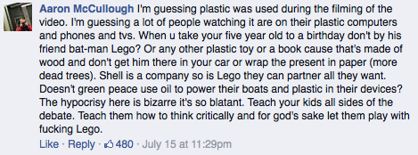 Greenpeace RE: Shell and LEGO = Hypocritical?
